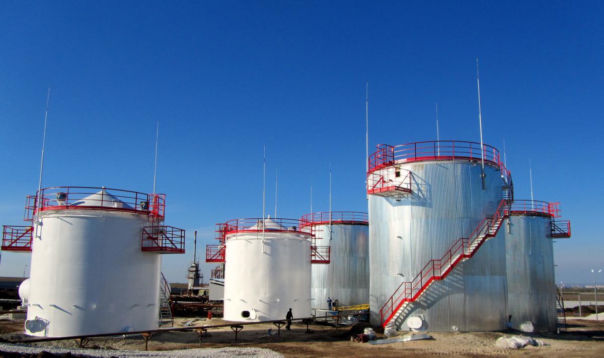 Executed Projects   Проектирование, производство, монтаж резервуаров